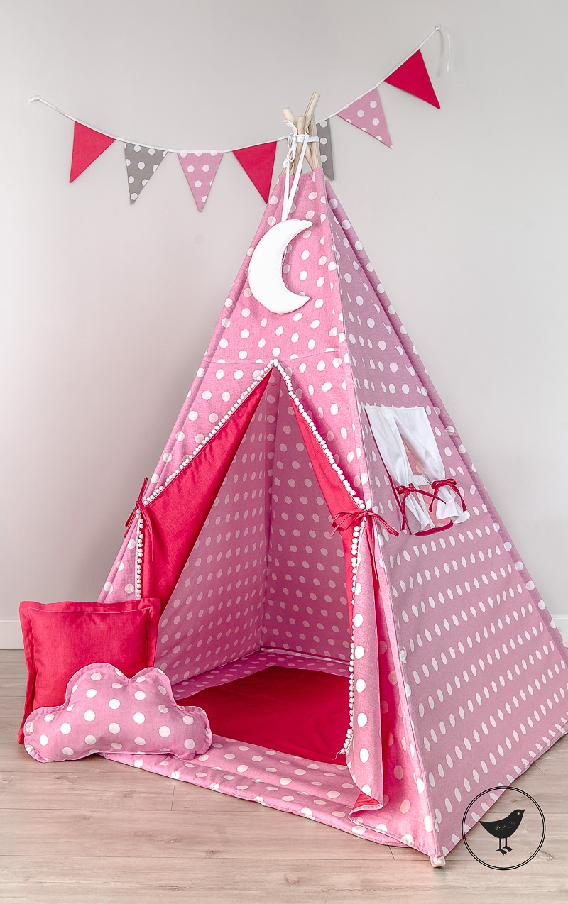 tipi spielzelt handgemacht zelt f r kinder spielzelt mit tipidecke. Black Bedroom Furniture Sets. Home Design Ideas